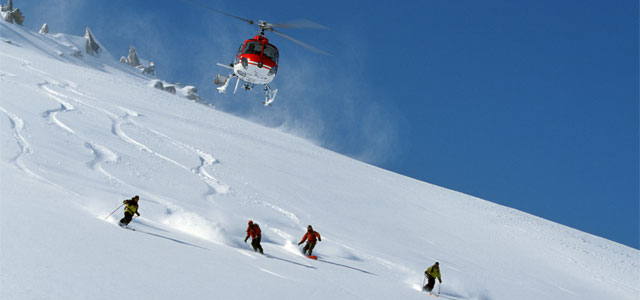 heli-skiing in Austria