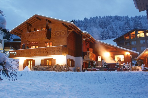 french alps holiday chalet